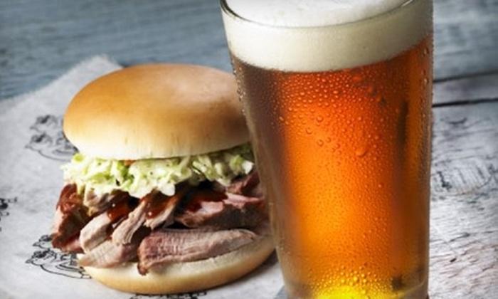 Red Hot & Blue - Winston-Salem: $12 for $25 Worth of Barbecue Fare at Red Hot & Blue in Winston-Salem