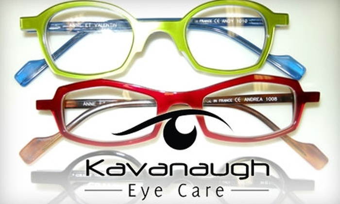Kavanaugh Eye Care - Heights: $28 for Single-Vision Lenses at Kavanaugh Eye Care ($75 Value)
