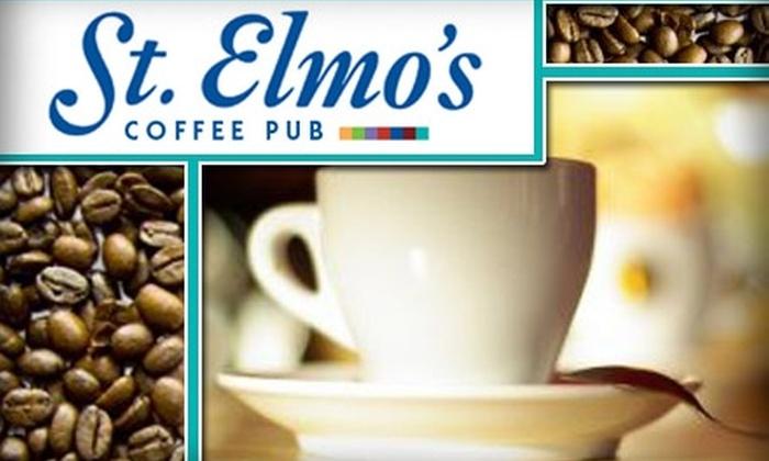 St. Elmo's Coffee Pub - Del Ray: $7 for $15 Worth of Coffee and More at St. Elmo's Coffee Pub