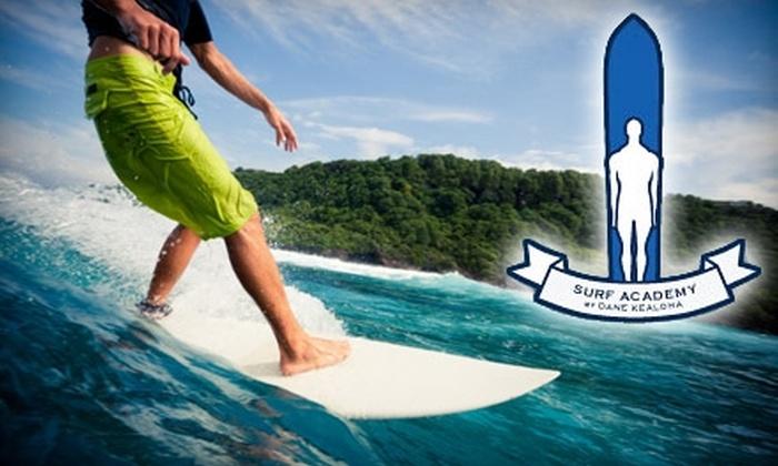 Surf Academy by Dane Kealoha - Waikiki: $30 for a Group Surf Lesson at Surf Academy by Dane Kealoha ($60 Value)