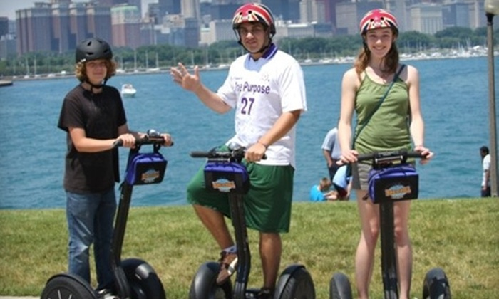 Bike Chicago - Multiple Locations: $25 for a Foster Avenue Beach and Montrose Harbor Segway Glide Tour from Bike and Roll Chicago ($50 Value)