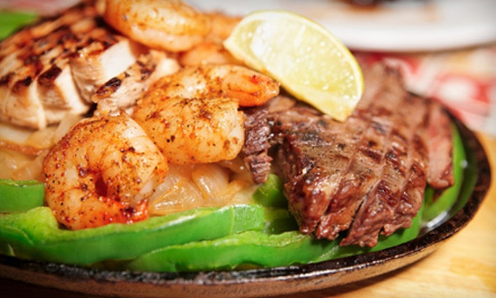 Los Tres Garcia - Stone Oak: Mexican Dinner for Two, Four, or Six at Los Tres Garcia (Up to 55% Off)
