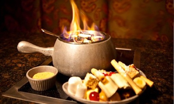 Simply Fondue - Lowest Greenville: $25 for $50 Worth of Savory and Sweet Fondue at Simply Fondue