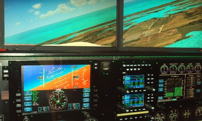Aviation Training & Resource Center - Southwest Carrollton: $60 for a One-Hour Flight-Simulator Experience at Aviation Training & Resource Center (Up to $162 Value) in Carrollton
