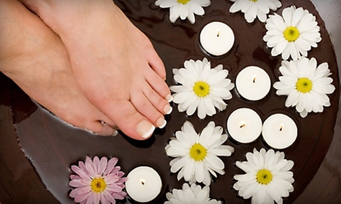 Affinity Day Spa - Lost Lake: Massage and Foot Detox or Mani-Pedi and Foot Detox at Affinity Day Spa in Clermont