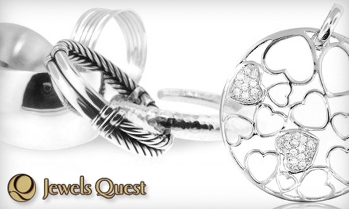 Jewels Quest - Thousand Oaks: $30 for $60 Worth of Sterling Silver Jewelry at Jewels Quest