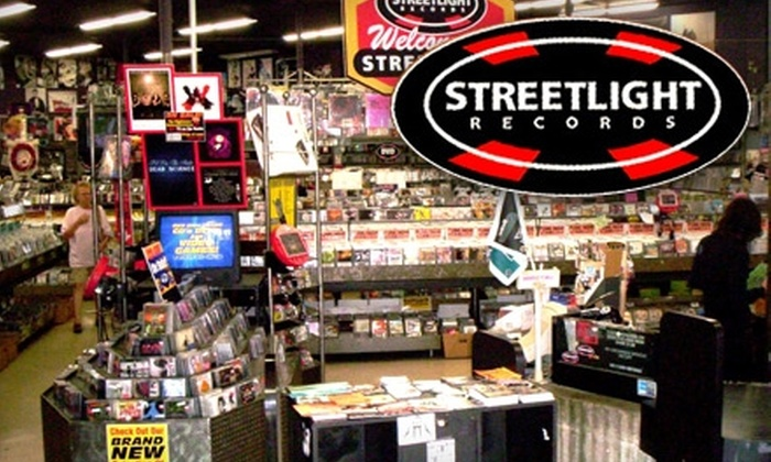 Streetlight Records - Del Mar: $10 for $20 Worth of Used CDs, DVDs, Vinyl, and More at Streetlight Records