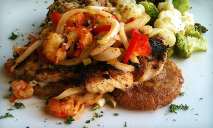Marigny Brasserie - New Orleans: $15 for $30 Worth of Creole Fare and Drinks at Marigny Brasserie