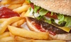 OUT OF BUSINESS Burgersndogs - Dongan Hills: Hamburger or Hot-Dog Meal with Fries and Drinks for Two or Four at Burgers N Dogs in Staten Island (Up to 60% Off)