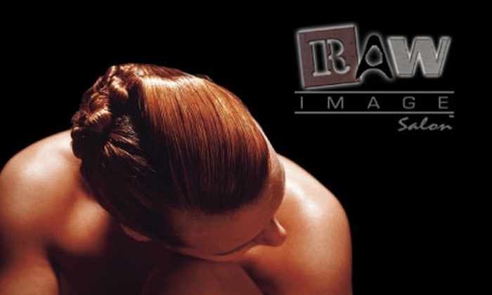 Raw Image Salon - Layton: $22 for a Manicure and Pedicure at Raw Image Salon