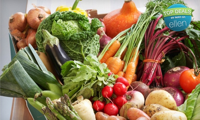 Farm Fresh To You: $15 for $31.50 Worth of Organic Produce Delivered from Farm Fresh To You