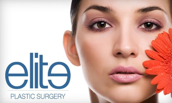 Elite Plastic Surgery - Aventura: $79 for Up to 20 Units of Botox at Elite Plastic Surgery in Aventura (Up to $300 Value)