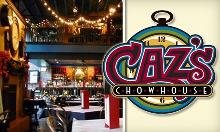 Caz's Chowhouse - Brady Arts District: $7 for $15 Worth of Sunday Brunch Fare at Caz's Chowhouse