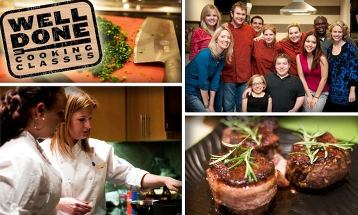 Well Done Cooking Classes - Greenway/ Upper Kirby: $30 for Healthy Cooking or Baking Classes with Well Done