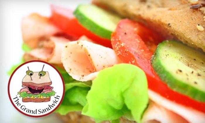 The Grand Sandwich - Minneapolis / St Paul: $6 for $12 Worth of Sandwiches and More at The Grand Sandwich