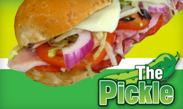The Pickle - Downtown Columbus: $7 for $14 Worth of Sandwiches and Drinks at The Pickle