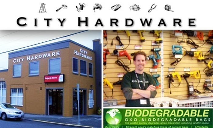 City Hardware  - South-Lake Union: $10 for $20 Worth of Hardware-type Goods at City Hardware