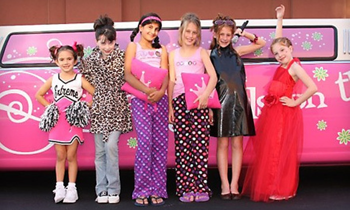Sweet & Sassy - West Dixie Bend: Kids' Cut and Style, Makeover, or Diva Party Package for Up to Eight at Sweet & Sassy in Parkland (Up to 52% Off)