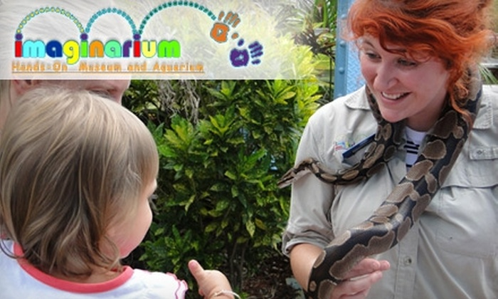Imaginarium Hands-On Museum and Aquarium - Fort Myers: $20 for Family Four Pack Admission to Imaginarium Hands-On Museum and Aquarium ($40 Value)