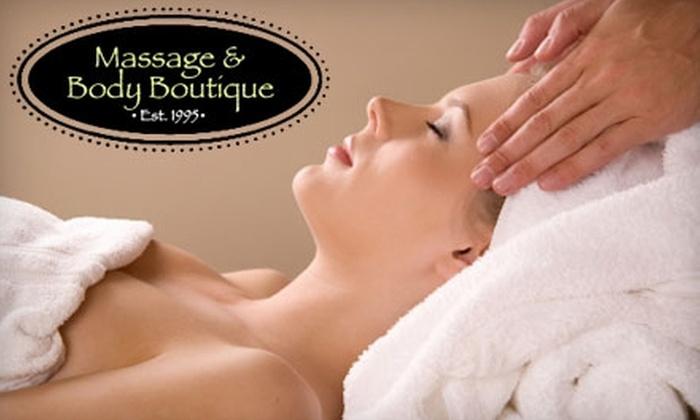 Massage & Body Boutique - Vistas: $30 for a 50-Minute Detoxifying Bodywrap at Massage & Body Boutique ($60 Value)