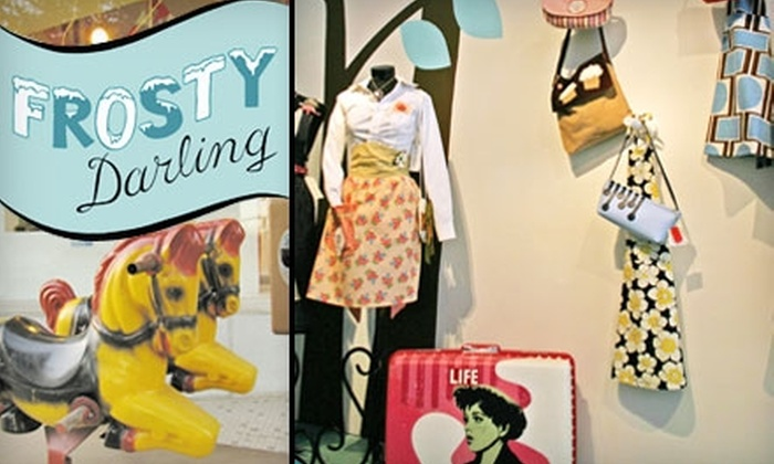 Frosty Darling - Central City: $5 for $10 Worth of Vintage Western-Pop Housewares, Art, Candies, and More at Frosty Darling