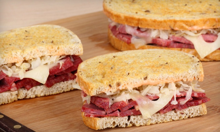 3 Brothers Deli and Brewhouse - Nashville: Deli Appetizers or Meal and Beer for Two at 3 Brothers Deli and Brewhouse in Murfreesboro (Up to 53% Off)