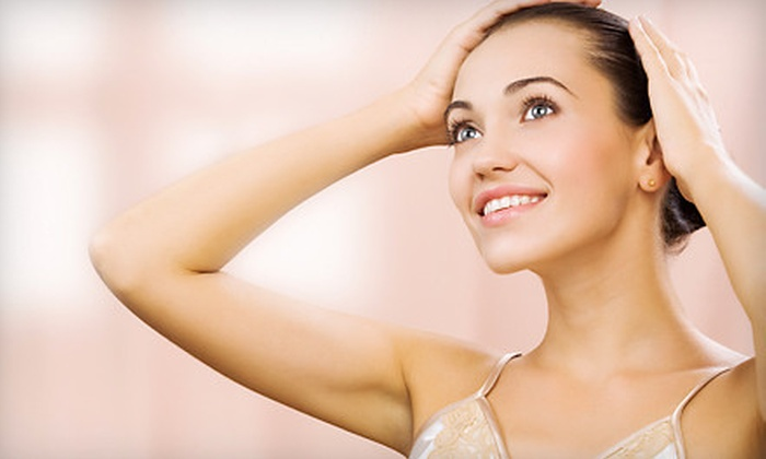 Pittsford Laser Spa - Pittsford: $99 for Three Laser Hair-Removal Sessions at Pittsford Laser Spa (Up to $900 Value)