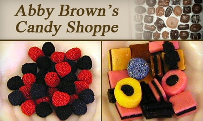 Abby Brown's Candy Shoppe - Northside: $10 for $20 Worth of Treats at Abby Brown's Candy Shoppe