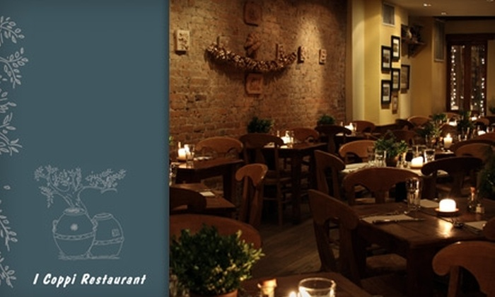 I Coppi - East Village: $15 for $30 Worth of Tuscan Dining and Drinks at I Coppi