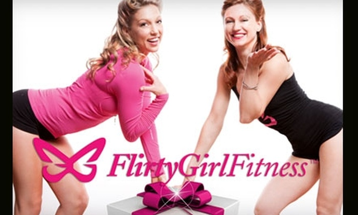 Flirty Girl Fitness - West Loop: $39 for Three Classes and Three Valet Parking Passes at Flirty Girl Fitness (Up to $99 Value)