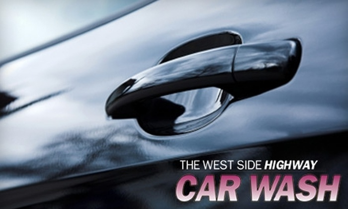 West Side Highway Car Wash - Clinton: $6 for a Deluxe Car Wash at West Side Highway Car Wash ($14.75 Value)