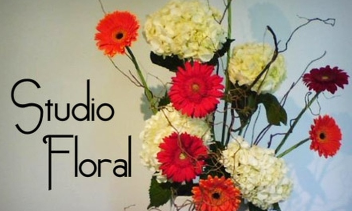 Studio Floral - Downtown: $30 for $65 Worth of Flowers and Balloons from Studio Floral