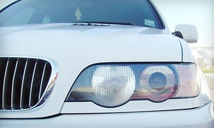 Express Auto Detailing - New Orleans: $75 for At-Home Headlight Restoration from Express Auto Detailing ($150 Value)