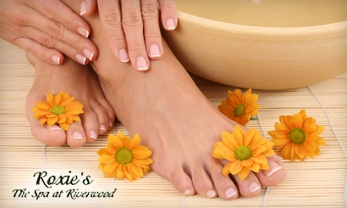 Roxie's The Spa at Riverwood - Clayton: $40 for a Relaxation Manicure, Hydrating Pedicure, and 30-Minute Massage at Roxie's The Spa at Riverwood in Clayton ($120 Value)