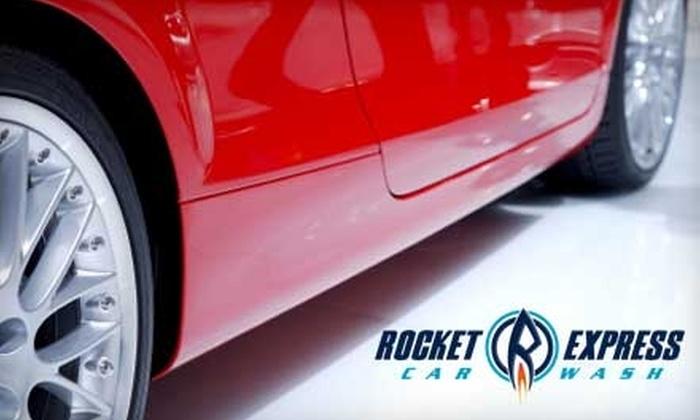 Rocket Express Car Wash - Alkire Acres: $6 for a Gold Wash at Rocket Express Car Wash in Littleton ($13 Value)