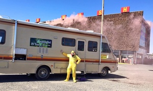 "Breaking Bad RV Tours: 3-Hour ""Breaking Bad"" Shoot-Location Tour for One, Two, or Four from Breaking Bad RV Tours (Up to 40% Off)"