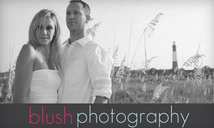 Blush Photography - Savannah / Hilton Head: $50 for a 60-Minute Portrait Session from Blush Photography ($125 value)