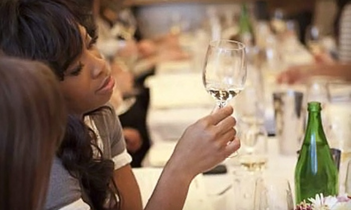 New York Vintners - Tribeca: Choice of Wine-Tasting Class or Private Wine Tasting and Cooking Party for 40 at New York Vintners (Half Off)