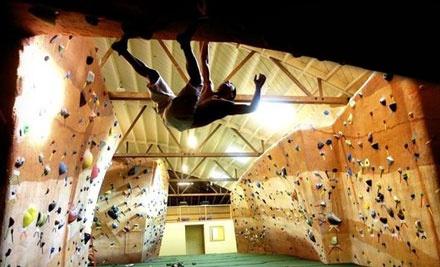 1-Week Climbing Package - Bridges Rock Gym in El Cerrito