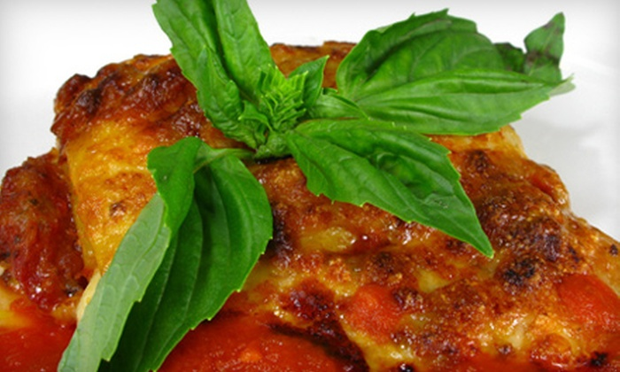 Testaccio Ristorante - Testaccio Ristorante: $25 for $50 Worth of Roman Fare Plus Two Glasses of House Wine at Testaccio Ristorante in Long Island City ($70 Value)