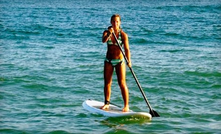 Long Island Stand-Up Paddle Boarding Co.: 90 Minute Introductory Standup Paddleboarding Class for 2 People - Long Island Stand-Up Paddle Boarding Co. in Great River