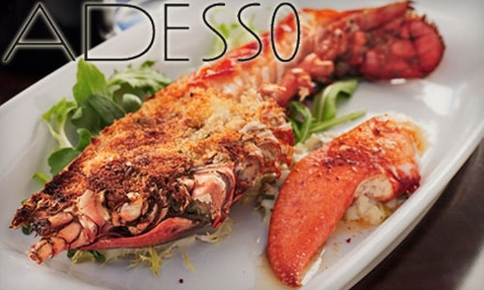 Adesso Bistro - West End: $25 for $50 Worth of Modern Italian Cuisine at Adesso Bistro