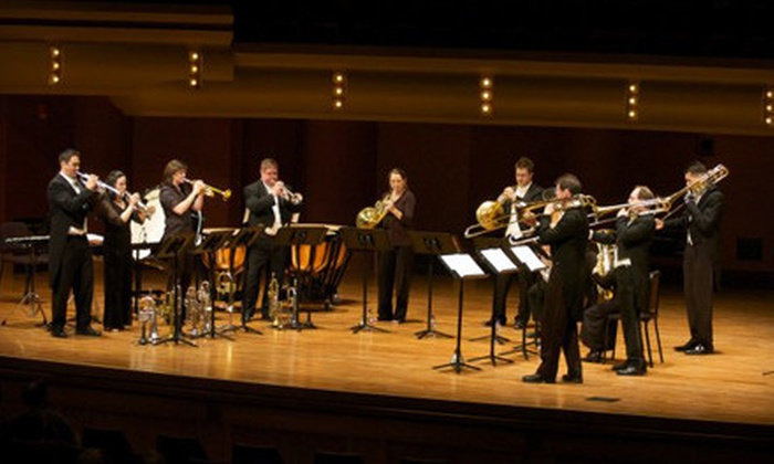 Burning River Brass at the Cleveland Orchestra's Holiday Festival - University: Outing to Burning River Brass Performance at Cleveland Orchestra's Holiday Festival (Half Off). Two Options Available.