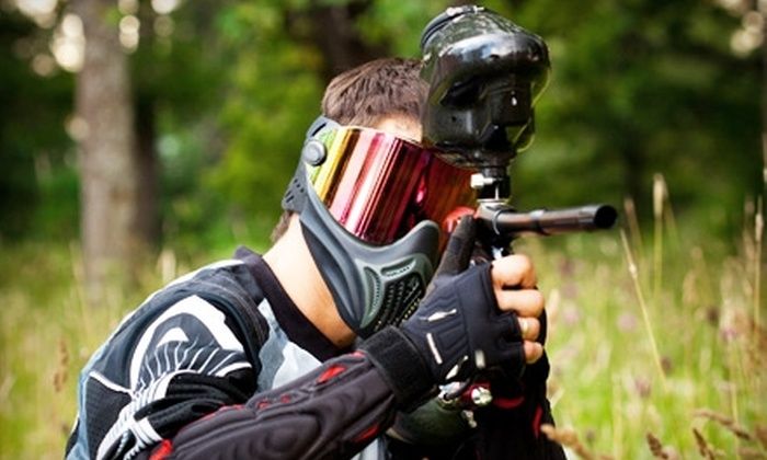 Fox 4 Paintball - Upton: $25 for All-Day Play, Equipment Rental, and 200 Paintballs at Fox 4 Paintball in Upton ($50 Value)