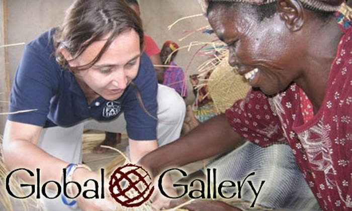 Global Gallery - Multiple Locations: $15 for $30 Worth of Fair-Trade Products at Global Gallery