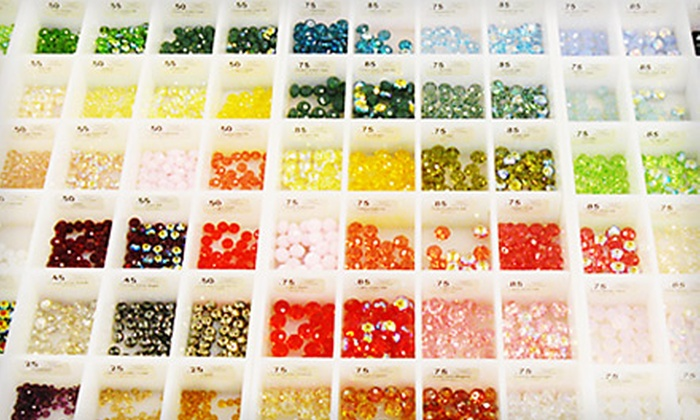 Fusion Beads - Fremont: $20 for $40 Worth of Beads, Charms, and Classes at Fusion Beads