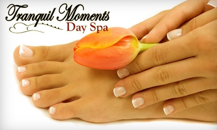 Tranquil Moments Day Spa - Martin Luther King: $39 for an Aloe-Vera Herbal Body Wrap at Tranquil Moments Day Spa ($85 Value)