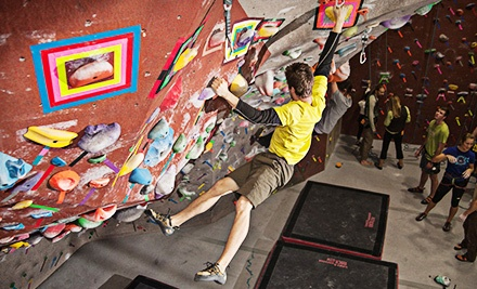 Intro to Climbing Class with Gear for One, Two, or Four at Santa Barbara Rock Gym (Up to Half Off)