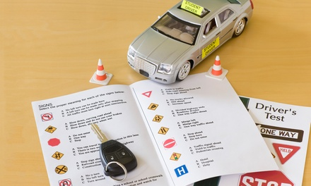 Driver's License Prep Course. Pass the Test the First Time  (50% Off). Three Options Available.