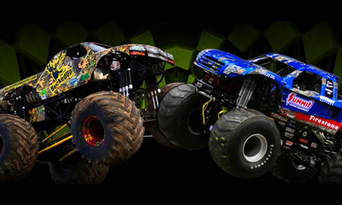 Monster X Tour - Triangle: $19 to See Monster X Tour Monster-Truck Show at Raley Field on November 16 or 17 (Up to $33.25 Value)